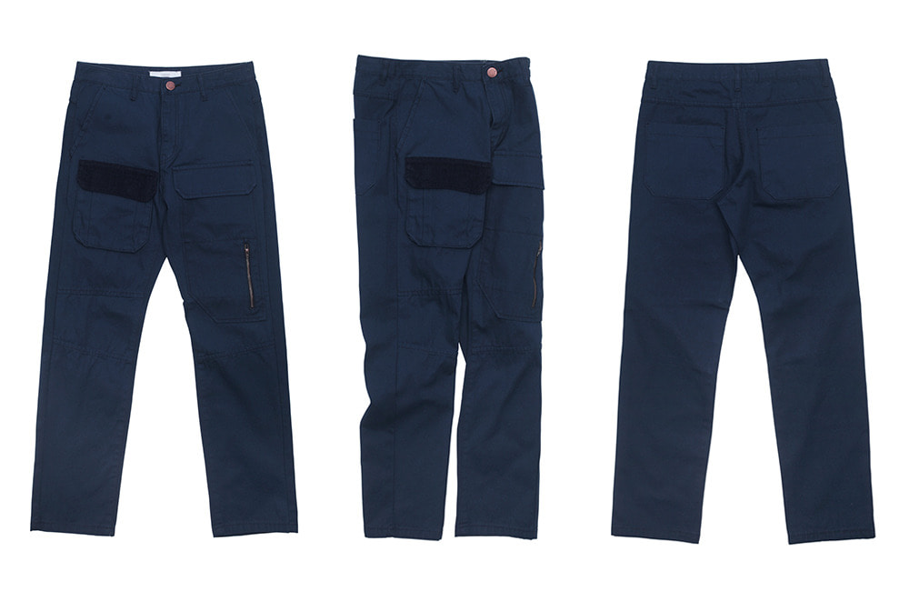 Double Pocket Fatigue Pants (navy)