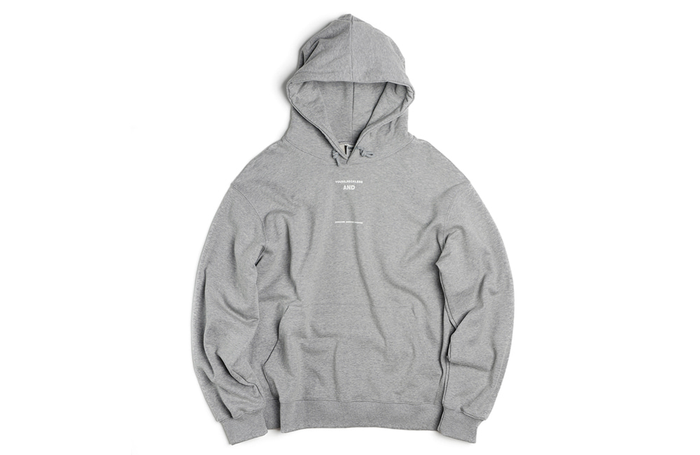 Round Spiny Sweat-Hood (gray)
