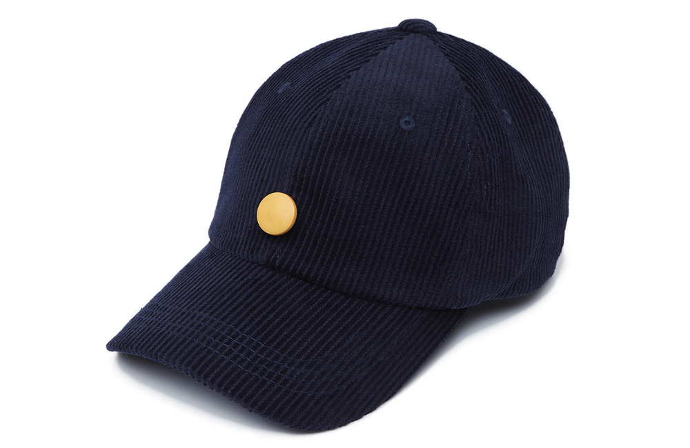 8s Corduroy Detachable Ball-cap (navy)