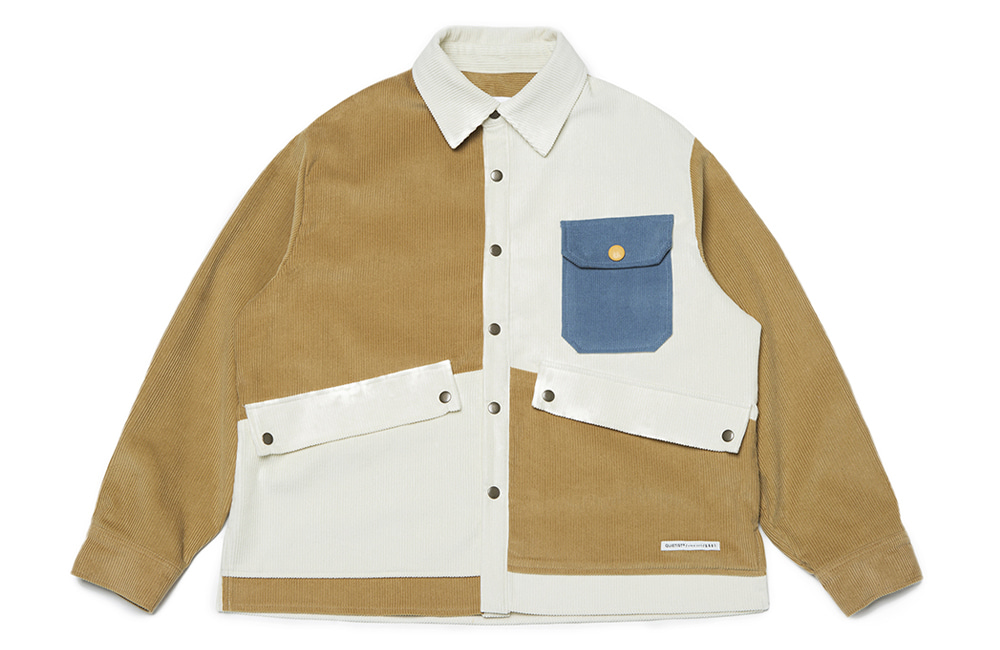 8s Corduroy Twin Panel Jacket (multi)