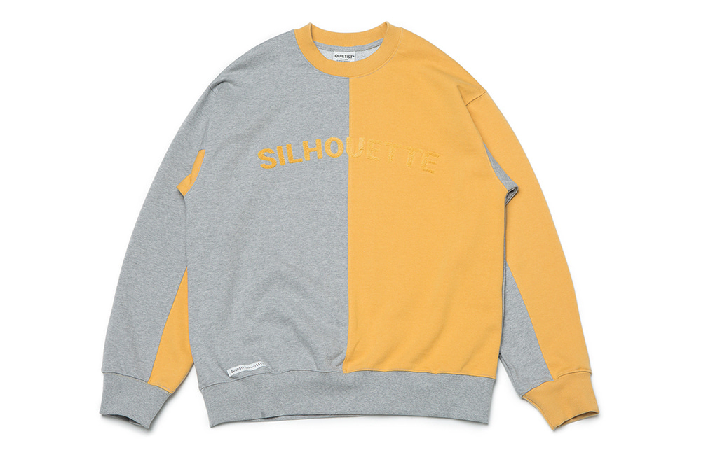 Silhouette Panel Sweat (multi)