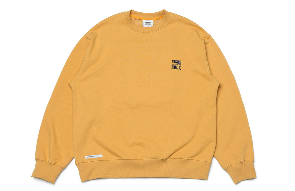 Disco Patch Sweat (yellow)