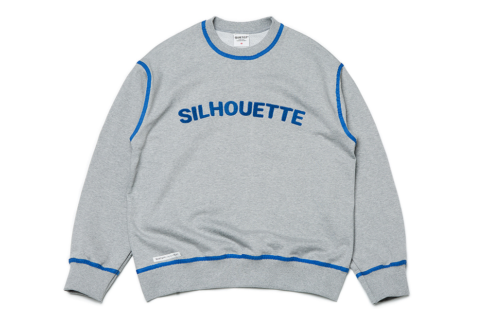 Silhouette Piping Sweat (gray)
