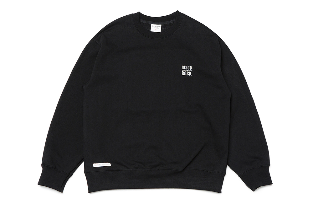 Disco Patch Sweat (black)