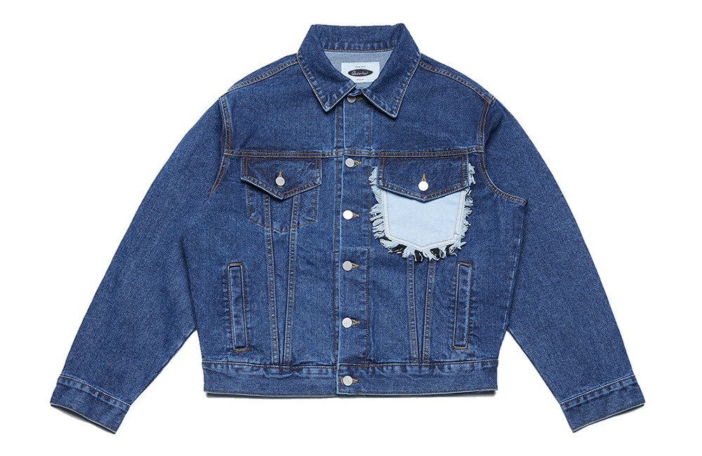 Two-tone Denim Trucker Jacket (medium)
